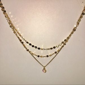 Charming Charlie 3 Strand Necklace